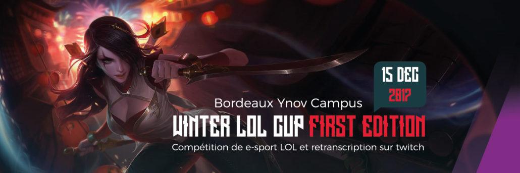 Lol Cup Esport Ynov Campus