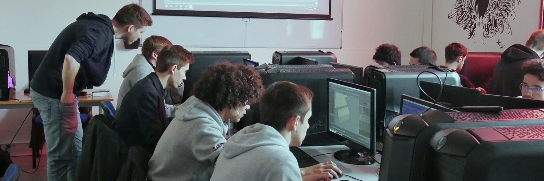 Formation Programmation Informatique et Jeux Vidéo en alternance à Bordeaux chez Ynov Informatique Ingésup