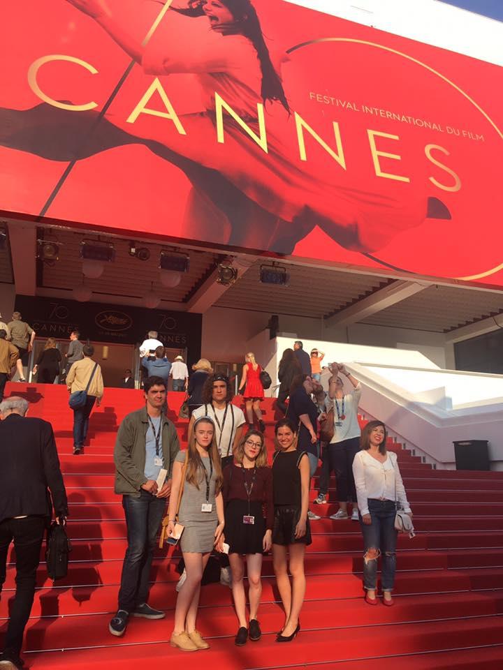 etudiants audiovisuel à Cannes