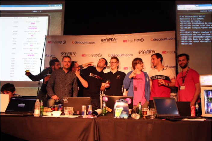 Sthack 2016 remise des prix evenement cyber sécurité informatique
