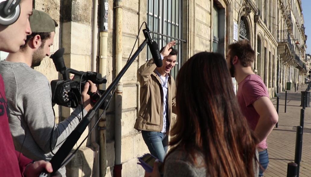 Formation production audiovisuelle tournage exterieur bachelor