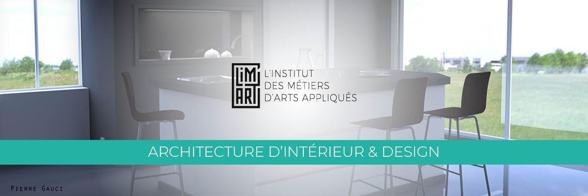 Mastère Architecture d'Intérieur et Design