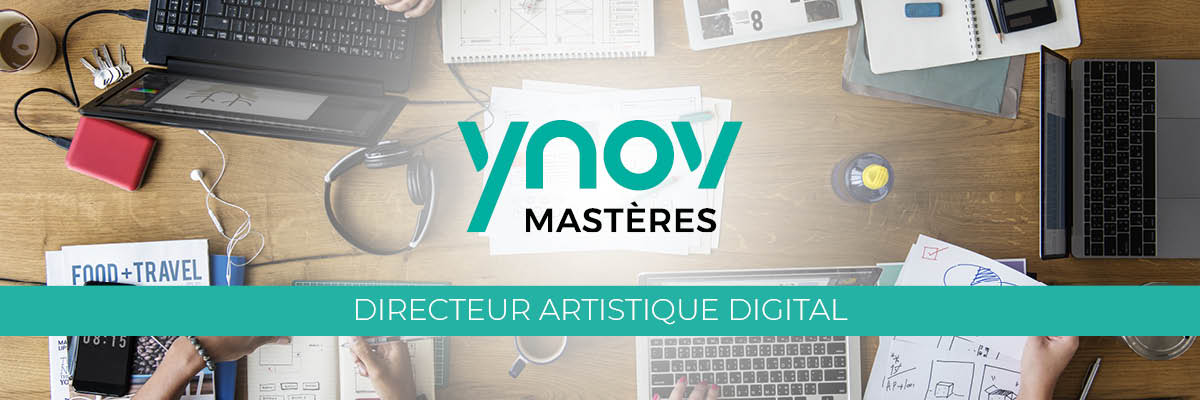 Mastère Directeur Artistique Digital