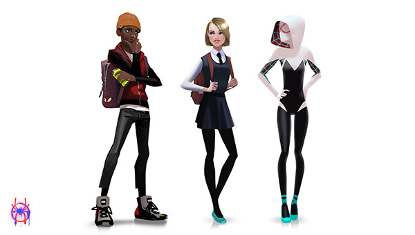 character designer spiderverse