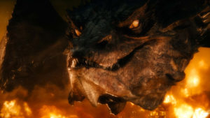 Smaug Dragon Formation VFX