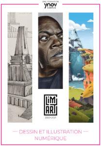 brochure ecole de dessin illustration