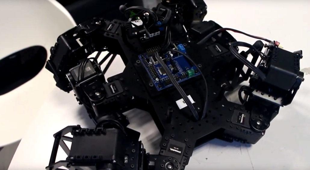 Robot Hexapode : projet de formation mecatronique
