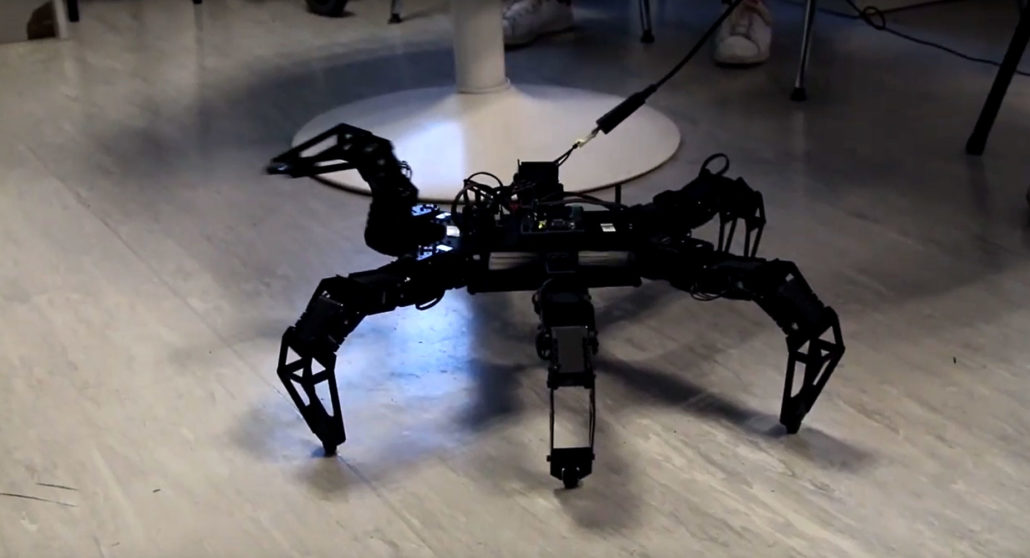 robot hexapode formation mecatronique