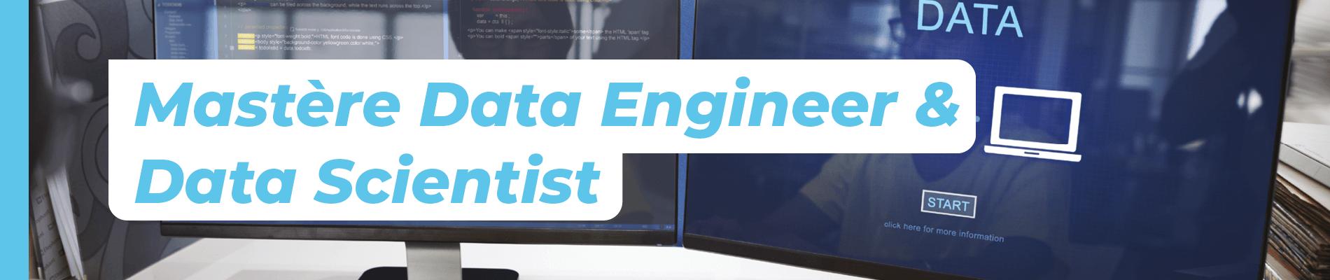Mastère Data Engineer et Data Scientist