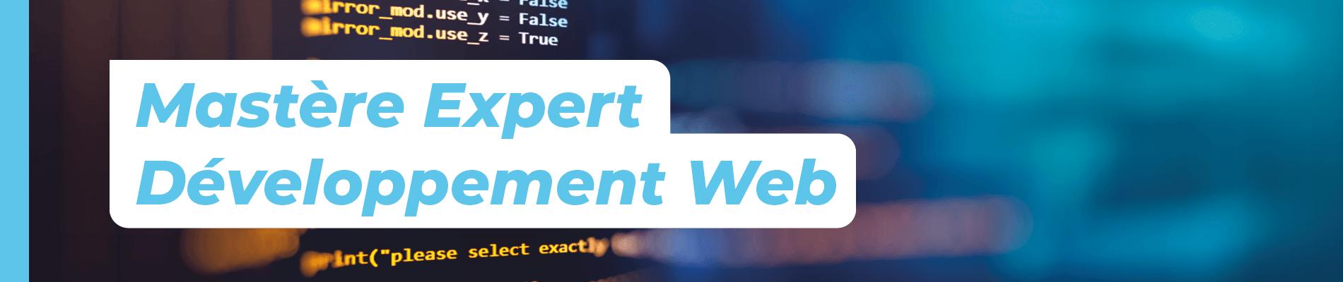 Mastère Développement Web