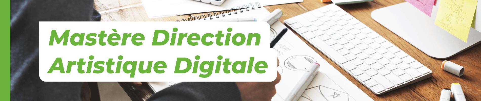 Mastère Direction Artistique Digitale