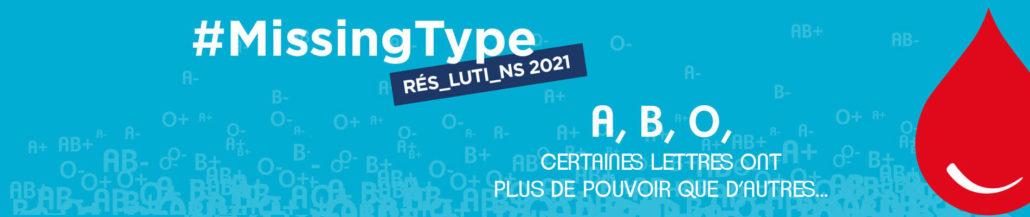 La campagne #missingtype de l'EFS