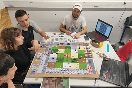 Cour de game design de jeu de société