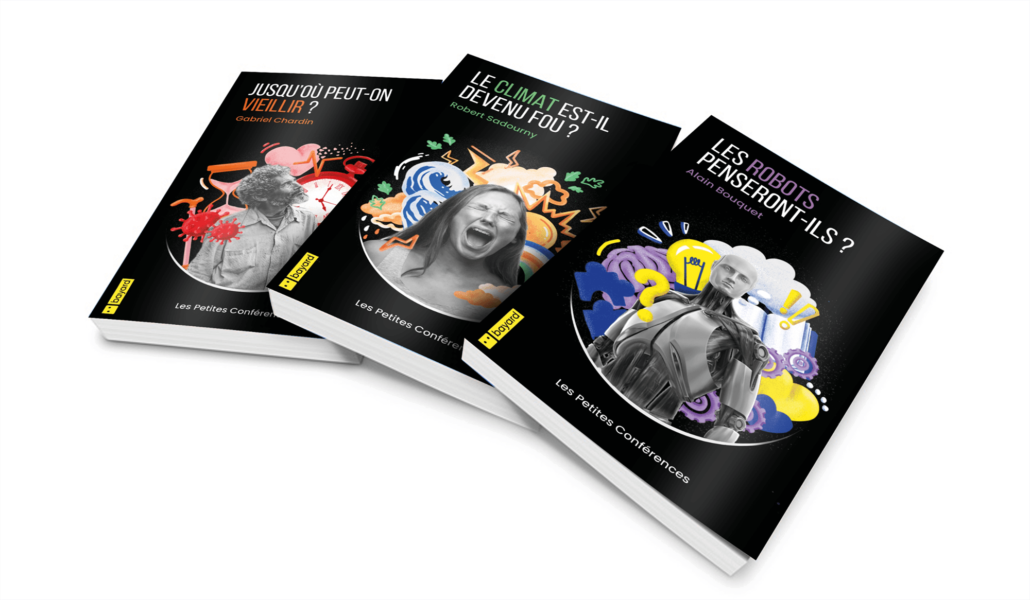 Couvertures de livre crées par nos étudiants en Création et Design