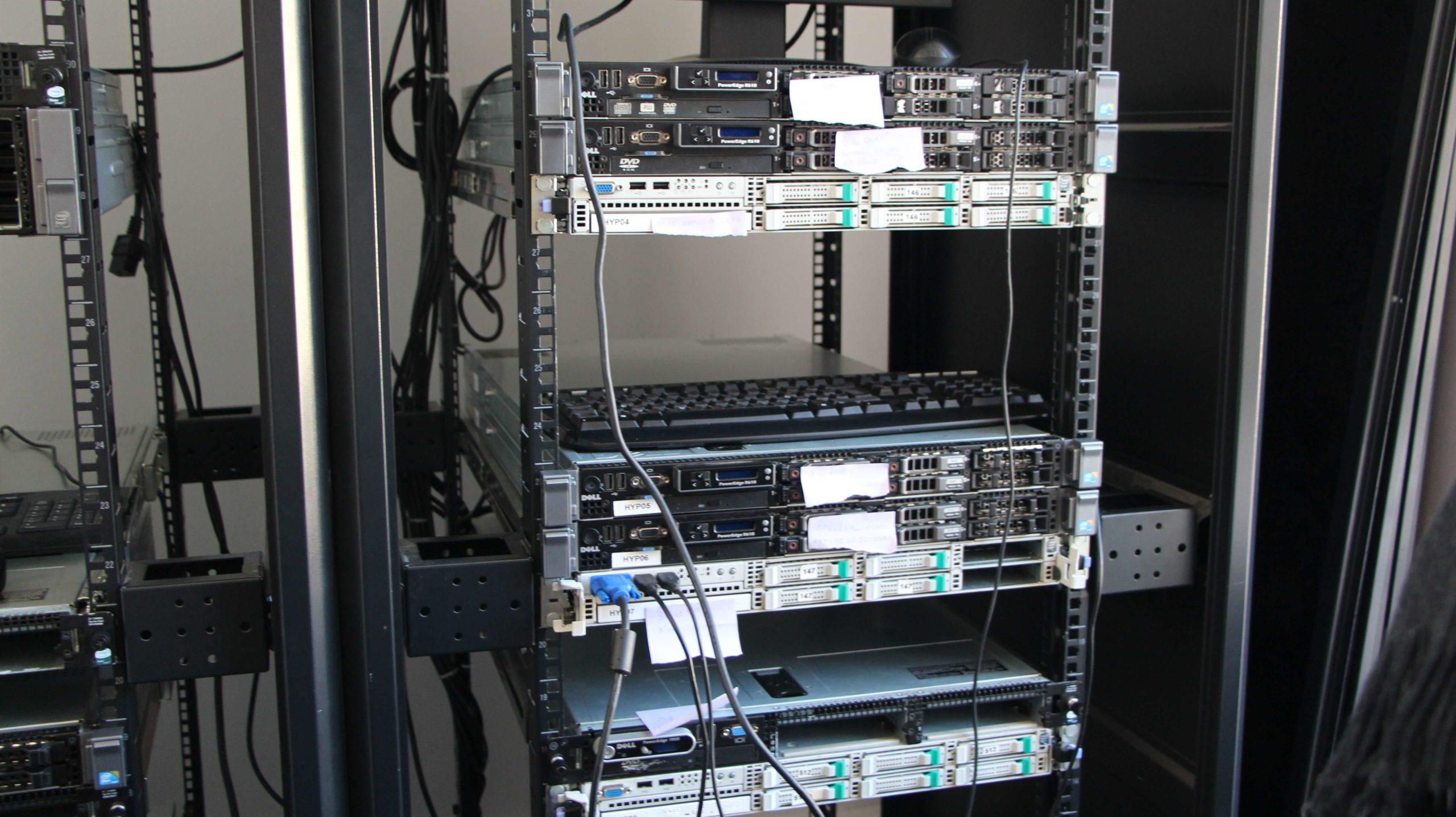 Serveur utilisé en cours de bachelor Informatique