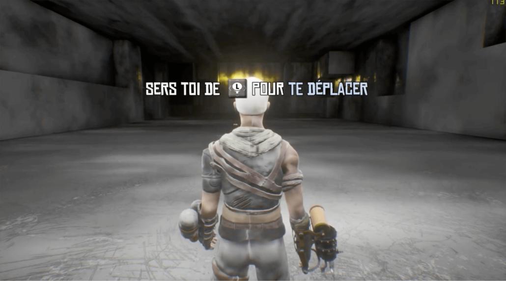 Image tirée du projet de jeu vidéo Maze of Corruption
