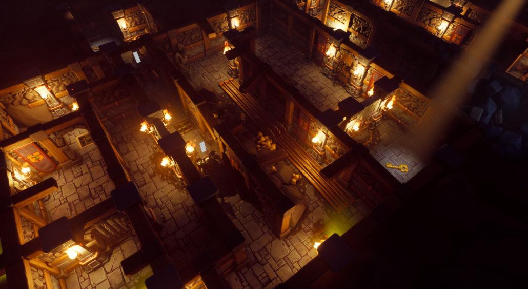 Image tirée du projet de jeu vidéo Ravenstone
