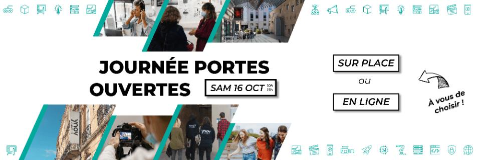 Journée portes ouvertes Samedi 16 octobre 2021 Bordeaux Ynov