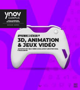 Ynov 3D, Animation & Jeux Vidéo